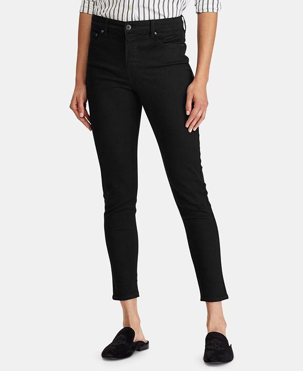 Lauren Ralph Lauren Mid-Rise Skinny Jeans