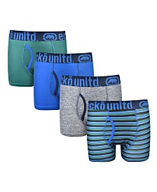 Ecko Boys Boxer Brief, 4 pack