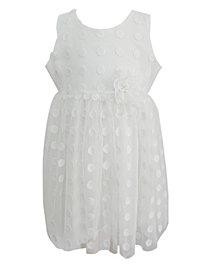 Little Girls White Lace Dress