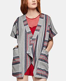 BCBGeneration Woven Blanket Jacket