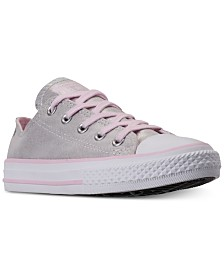 Converse Little Girls' Chuck Taylor All Star Ox Twilight Court Casual Sneakers from Finish Line