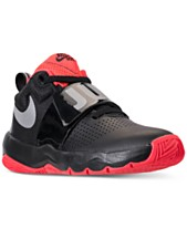 Nike Boys  Team Hustle D8 Just Do It Basketball Sneakers from Finish Line 1d6723cd1