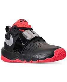 2c051e408854 Nike Boys  Team Hustle D8 Just Do It Basketball Sneakers from Finish Line