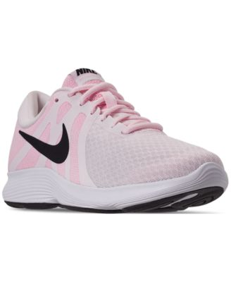 Image of Nike Women's Revolution 4 Running Sneakers from Finish Line