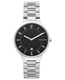 Skagen Men's Grenen Stainless Steel Bracelet Watch 40mm