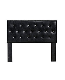 Kylen Full Queen Leather Headboard