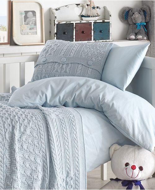 Nipperland Patchworld Natural Cotton Crib Bedding Set 5 Piece