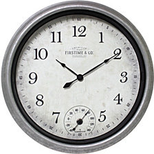 Firstime and Co. Rustic Porch Wall Clock