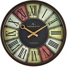Prismatic Clock