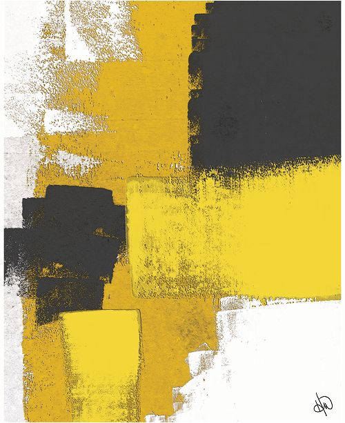 """Creative Gallery Rise in the East Abstract 16"""" x 20"""" Acrylic Wall Art Print"""