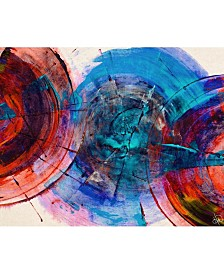 "Sherno Delta Abstract 20"" x 24"" Acrylic Wall Art Print"