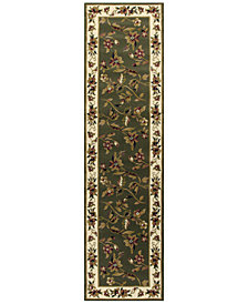"KAS Cambridge Floral Vine 2'2"" x 7'11"" Runner Area Rug"
