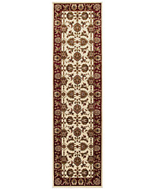 "KAS Cambridge Kashan 2'2"" x 7'11"" Runner Area Rug"