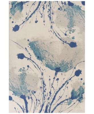"""CLOSEOUT! Reflections Serenity 7428 Ivory 7'10"""" x 11'2"""" Area Rug"""