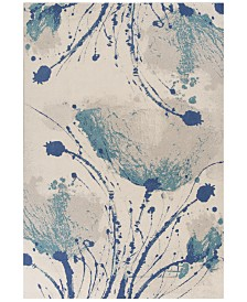 """KAS Reflections Serenity 7428 Ivory 5'3"""" x 7'7"""" Area Rug"""