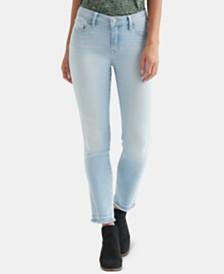 Lucky Brand Lolita Frayed Capri Jeans
