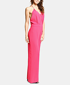 ARTISTIX Surplice Wide-Leg Jumpsuit