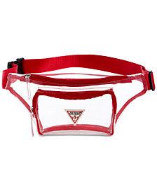 GUESS G Vision Clear Belt Bag