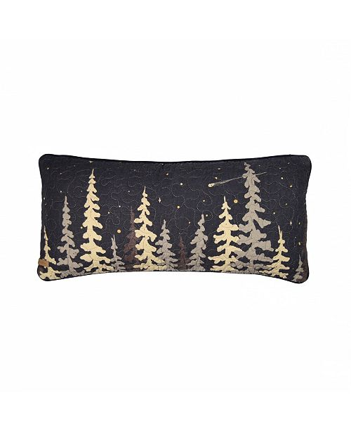 American Heritage Textiles Moonlit Cabin Cotton Quilt Collection, Accessories