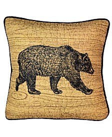 Oakland Bear Decorative Pillow