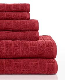 Cobblestone Tiles 6 Piece Towel Set