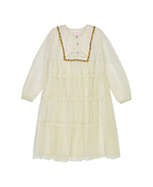 Masala Baby Girls Metallic Gypsy Dress