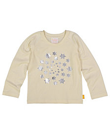 Masala Baby Girls Organic Cotton Circle of Stars Tee Winter