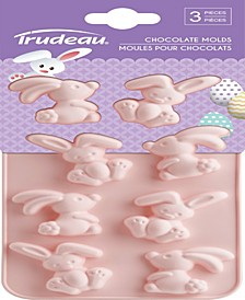 Trudeau Bunny Chocolate Molds