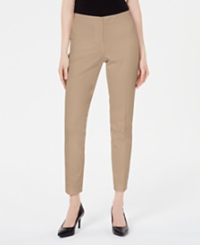 Alfani Petite Bi-Stretch Hollywood Skinny Pants, Created for Macy's