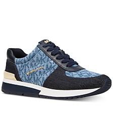 8e897207c7d Michael Kors Liv Trainer Sneakers   Reviews - Sneakers - Shoes - Macy s