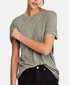 Cassidy Cuffed-Sleeve T-Shirt