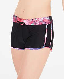 GO by Gossip Digital Floral Swim Shorts