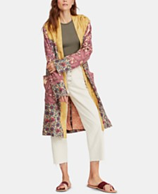Free People Maggie Open-Front Duster Jacket