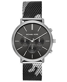 Michael Kors Men's Blake Camo Stainless Steel Mesh Bracelet Watch 42mm
