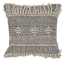 LR Home Pixilated Fringe Throw Pillow