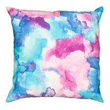 LR Home Mod Watercolor Indoor-Outdoor Throw Pillow