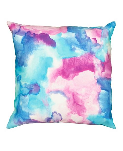 Lr Home Mod Watercolor Indoor Outdoor Throw Pillow