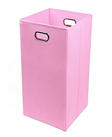 Rose Solid Folding Laundry Bin