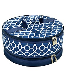 "Pie, Cake, Salad Carrier 12"" Diameter - Rigid Sides"