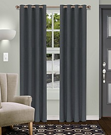 "Shimmer Textured Blackout Curtain, Set of 2, 52"" x 108"""