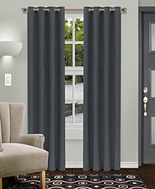 "Superior Shimmer Textured Blackout Curtain, Set of 2, 52"" x 108"""