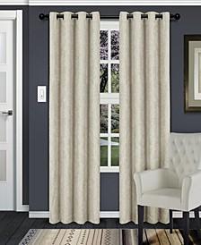 "Waverly Textured Blackout Curtain, Set of 2, 52"" x 63"""