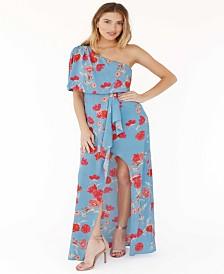 Plum Pretty Sugar Lottie One Shoulder Dress