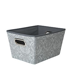 Laura Ashley Medium Grommet Storage Bin in Almeida