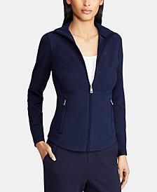 Lauren Ralph Lauren Full-Zip Mock-Neck Jacket
