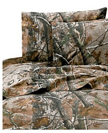 Realtree All Purpose King Sheet Set