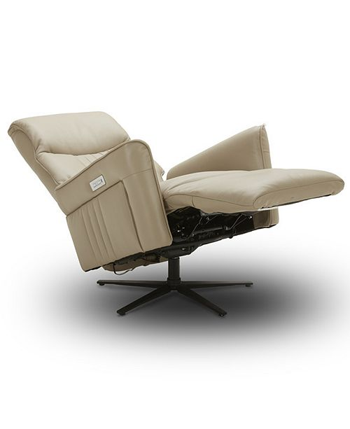 Furniture Ferndown Leather Power Recliner with 3 Motors in Zero Gravity