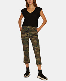 Sanctuary Combat Cropped Cargo Pants