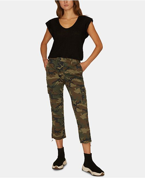 Sanctuary Combat Cargo Capri Pants