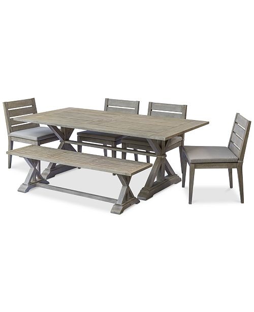 Fine Furniture Hadley Outdoor 6 Pc Dining Set 84 X 42 Dining Gmtry Best Dining Table And Chair Ideas Images Gmtryco